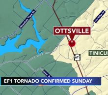 NWS: Tornado touched down in Bucks County Sunday night