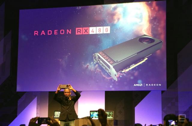 AMD's Radeon RX 480 GPU is VR ready for just $199