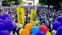 Crowds celebrate Pride in virus-free Taiwan