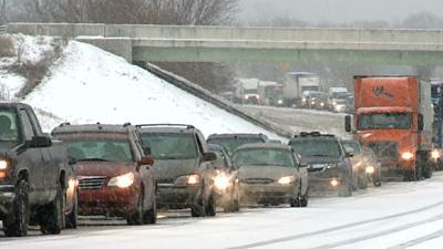 Heavy Snowfall Surprises Indiana, Michigan