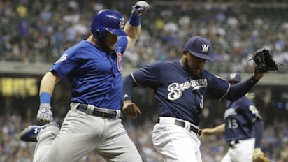 Brewers collapse to Cubs in crucial matchup