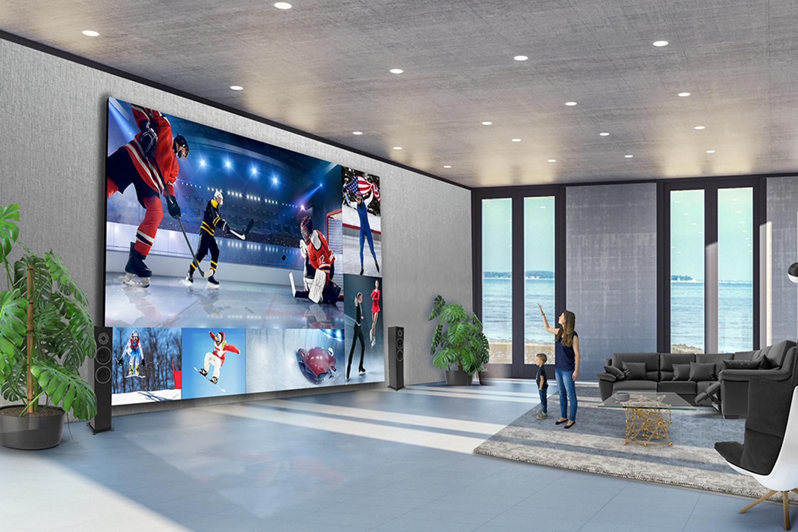 LG Direct View LED Extreme Home Cinema