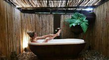 El baño más sensual de Blanca Suárez durante sus vacaciones en Tailandia
