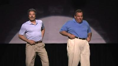 Christie Busts a Move on 'Tonight Show'