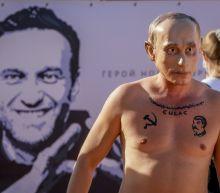 Navalny fans protest in Geneva ahead of Putin-Biden summit