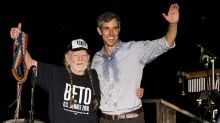 """Watch Willie Nelson Perform New Song """"Vote 'Em Out"""" at Beto O'Rourke Rally"""
