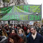 Thousands march for climate in Paris despite 'yellow vest' unrest