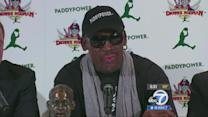 Dennis Rodman says he's returning to North Korea, with others
