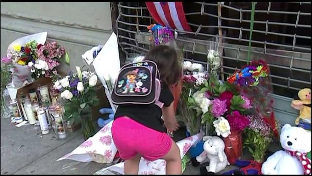 Memorial for 4-year-old Girl Hit by Teen During Police Pursuit