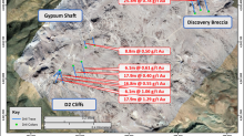 Fortitude Gold's East Camp Douglas Returns 17.92 Meters Of 1.29 G/T Gold Under Lithocap