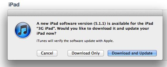 Apple's iOS 5.1.1 update for iPad, iPod touch and iPhone: fixes AirPlay and network bugs, jailbroken already