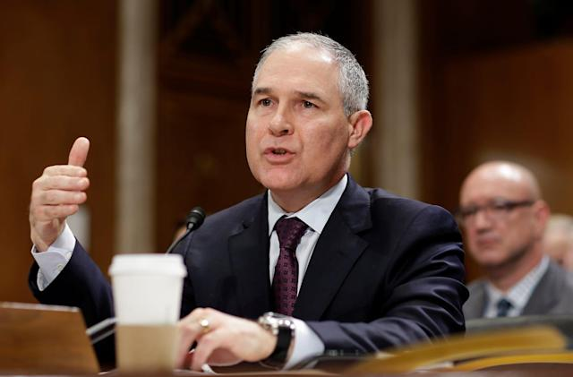 Reuters: Trump admin telling EPA to pull climate change info (updated)