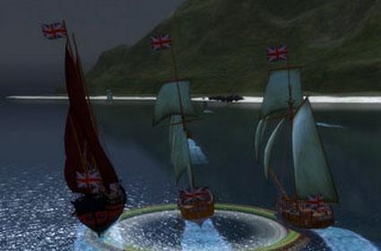 Group conquest missions in Pirates of the Burning Sea