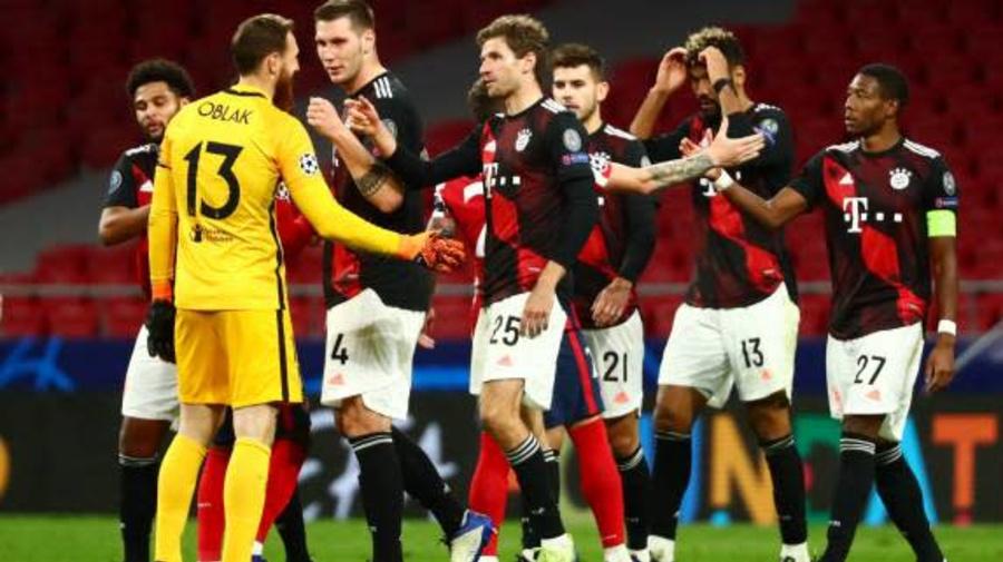 Foot - C1 - Bayern - Fin de la série record de victoires pour le Bayern Munich en Ligue des champions