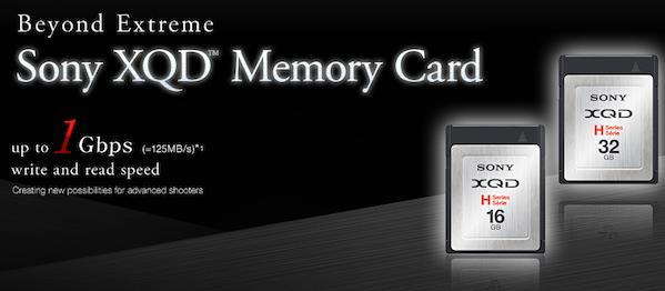 Sony flashes new XQD memory cards, your pre-ordered Nikon D4 smiles coyly