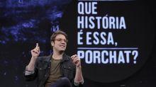 Sem plateia, Fábio Porchat se desdobra e fica exausto na volta do Que História É Essa?