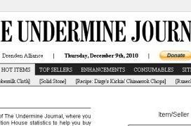 The Undermine Journal returns