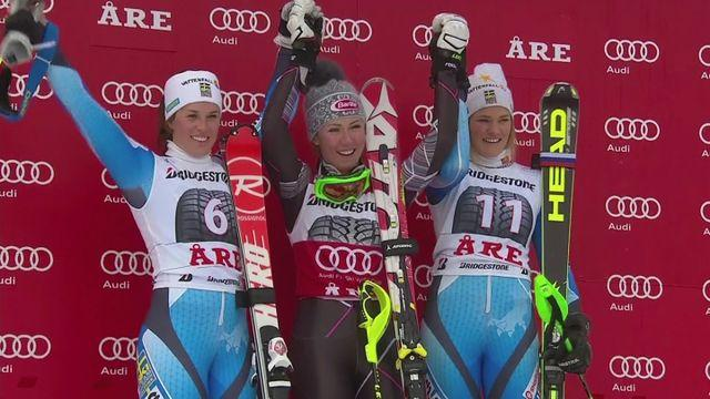 Shiffrin retains World Cup slalom title