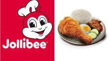 Jollibee launches S$5 Nasi Lemak in Singapore
