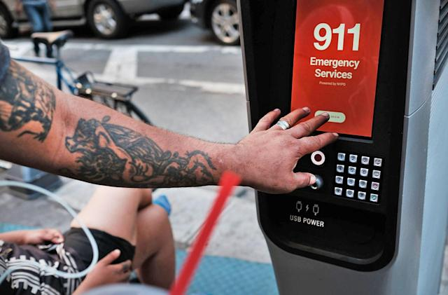 New York City's free WiFi kiosks speed up access to social services