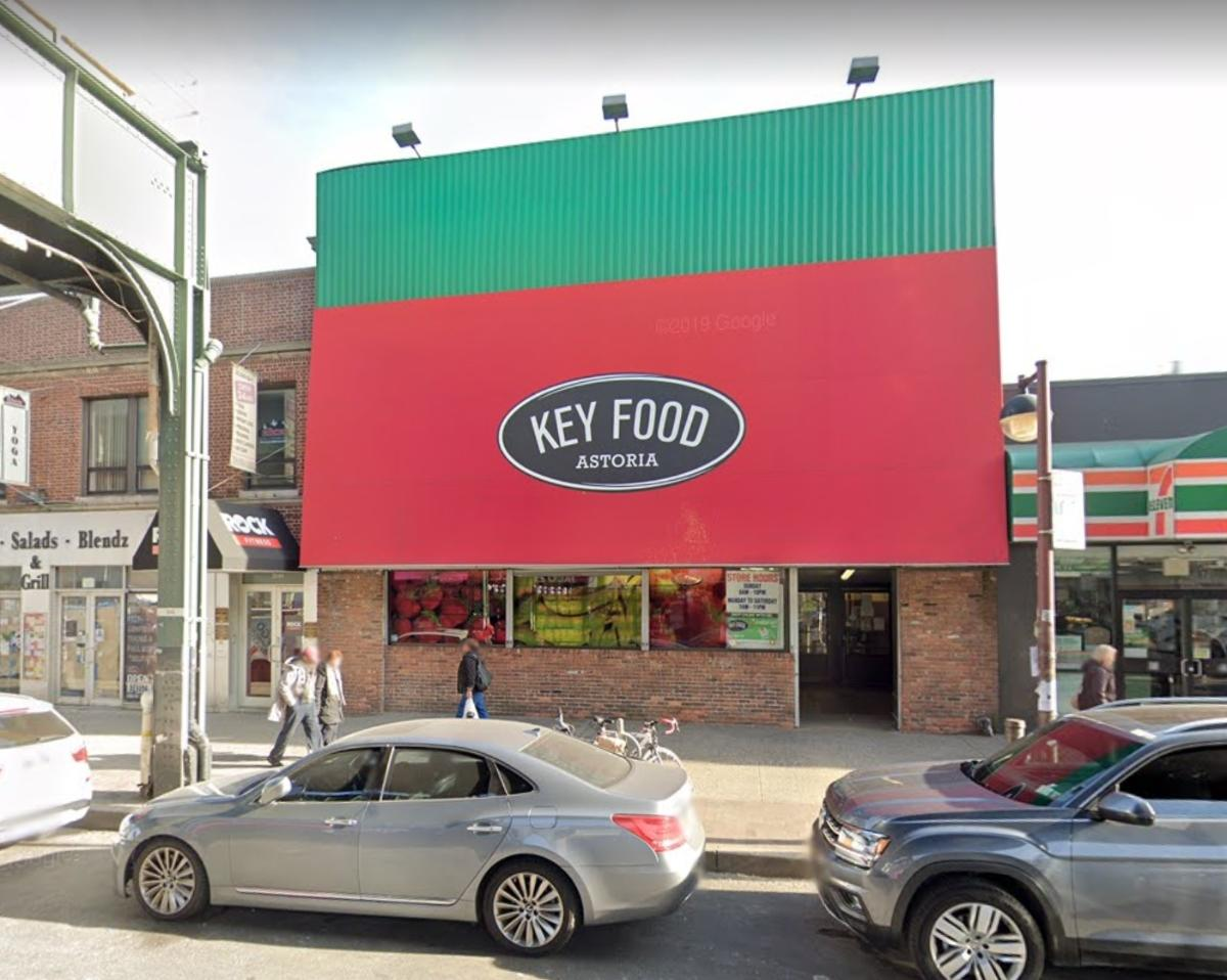 The Key Food supermarket at 22-15 31st St. in Astoria, Queens.
