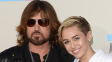 Miley Cyrus Gets 'Dad' Tattoo for Billy Ray Cyrus -- See the Pic!