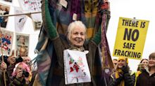 Vivienne Westwood Says No to Fracking With an ABBA Dance Party