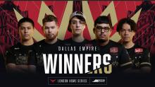 Dallas Empire gewinnen London Home Series