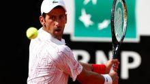 Tennis - ATP - Rome - Rome: Novak Djokovic lâche un set mais se qualifie pour les demi-finales