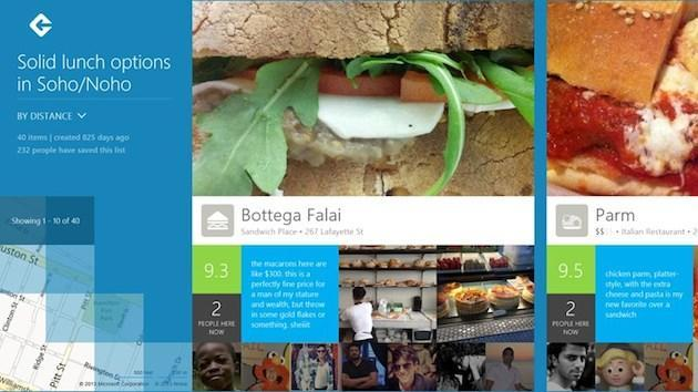 Microsoft to use Foursquare data in Bing and Windows products