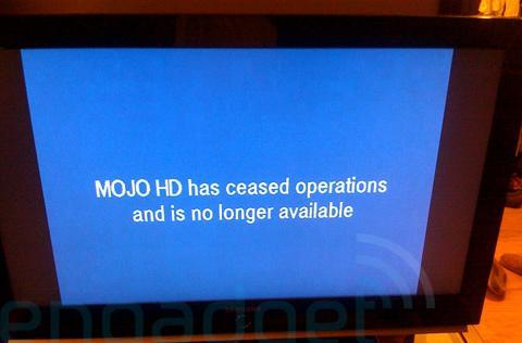 MOJO HD officially passes away: an unceremonious reminder