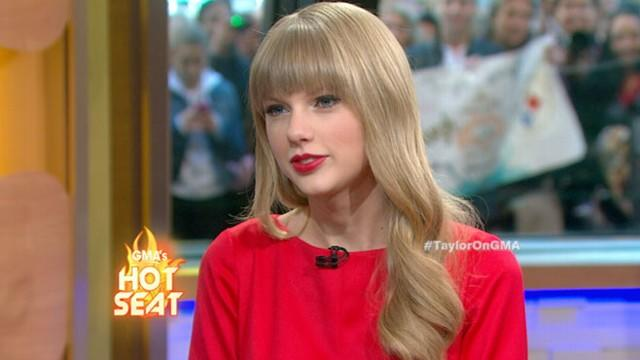 Taylor Swift Interview: Answers Lightning Round Questions from George Stephanopoulos