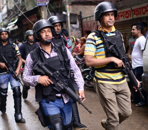 Bangladesh police kill Islamists in capital, foil 'mass attack'