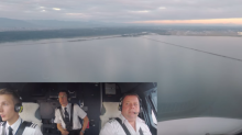 BA pilot shares amazing footage of plane coming into land at Vancouver airport