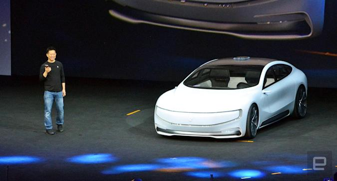 China's LeEco teases its very own autonomous electric car