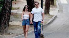 Alexia Rivas y Alfonso Merlos muy enamorados en Instagram