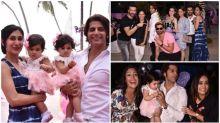 Karanvir Bohra's twins' first birthday bash was a starry affair