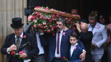 Funeral held for youngest victim of Manchester attack