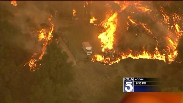 Firefight Continues in 1,700-Acre Colby Fire; Blaze 30% Contained