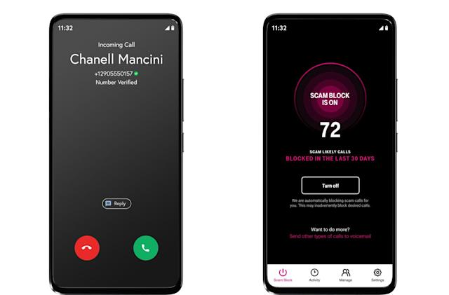 T-Mobile's 'Scam Shield' offers free caller ID and spam call blocking features