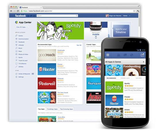 Facebook starts App Center beta, readies itself for paid web apps