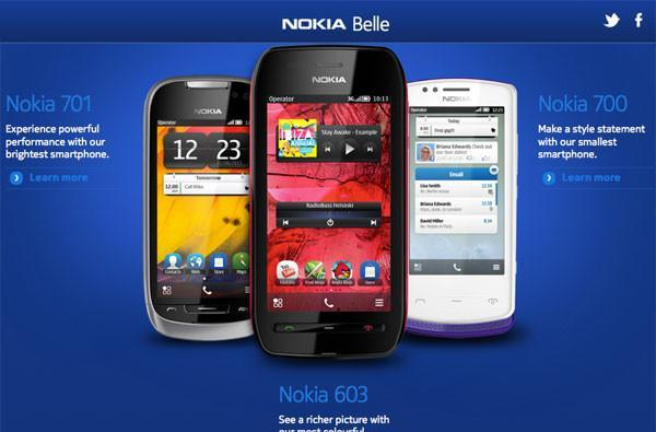 Say goodbye to Symbian, say hello to Nokia Belle