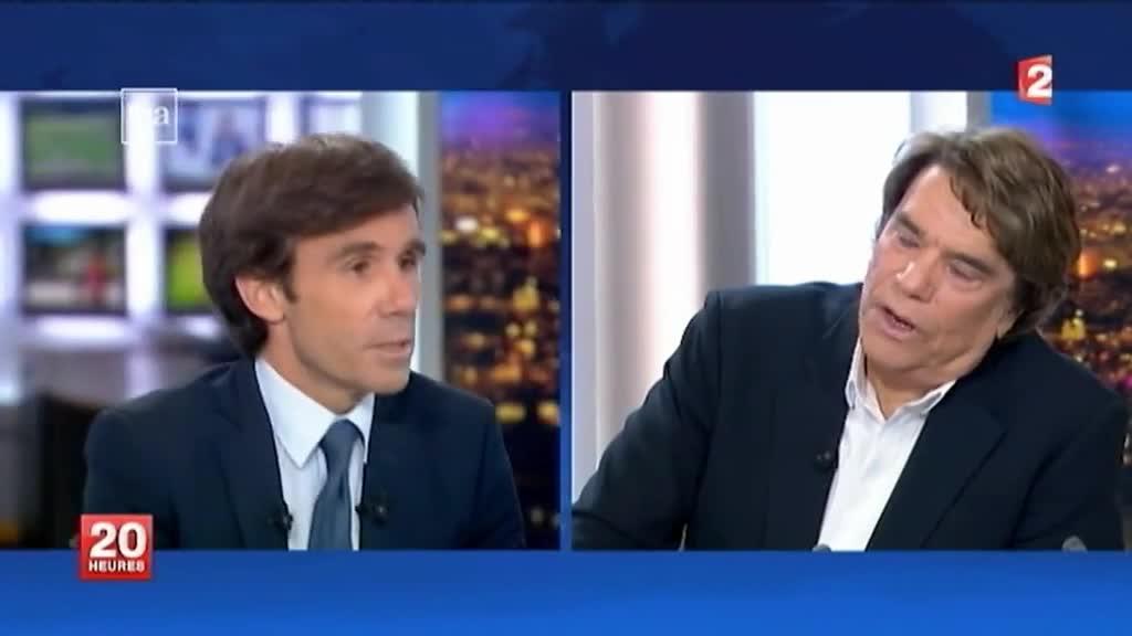 De bernard tapie jean luc m lenchon ces politiques qui se sont frott s au jt de david pujadas - France 5 ca vous ...
