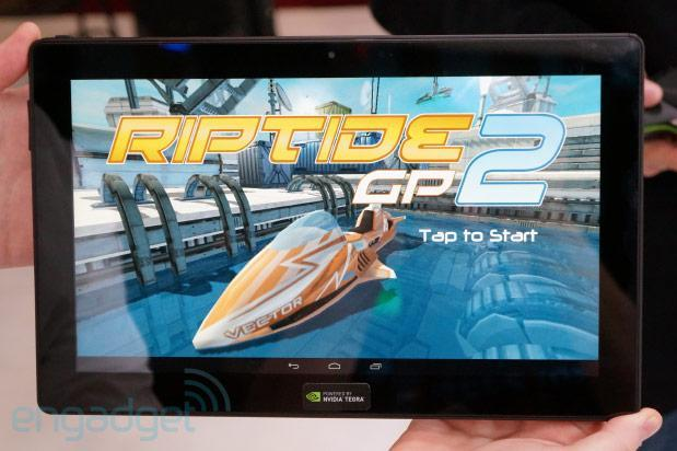 NVIDIA's Tegra 4 reference tablet hands-on at CES 2013 (video)