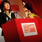 CNN correspondent  Christiane Amanpour reveals she is being treated for ovarian cancer