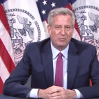 George Floyd protests: NYC mayor Bill de Blasio 'proud' of daughter after she is arrested