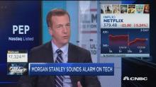 It's time to sell tech, warns Morgan Stanley