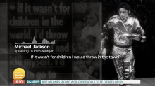 Michael Jackson told Piers Morgan he would rather 'slit his wrists' before abusing a child
