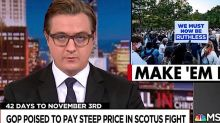 Democrats must make the GOP pay for its Supreme Court seat, and McConnell can help, MSNBC's Chris Hayes says