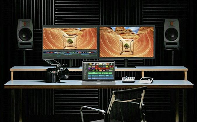 The new 15-inch MacBook Pro can push four 4K monitors at once